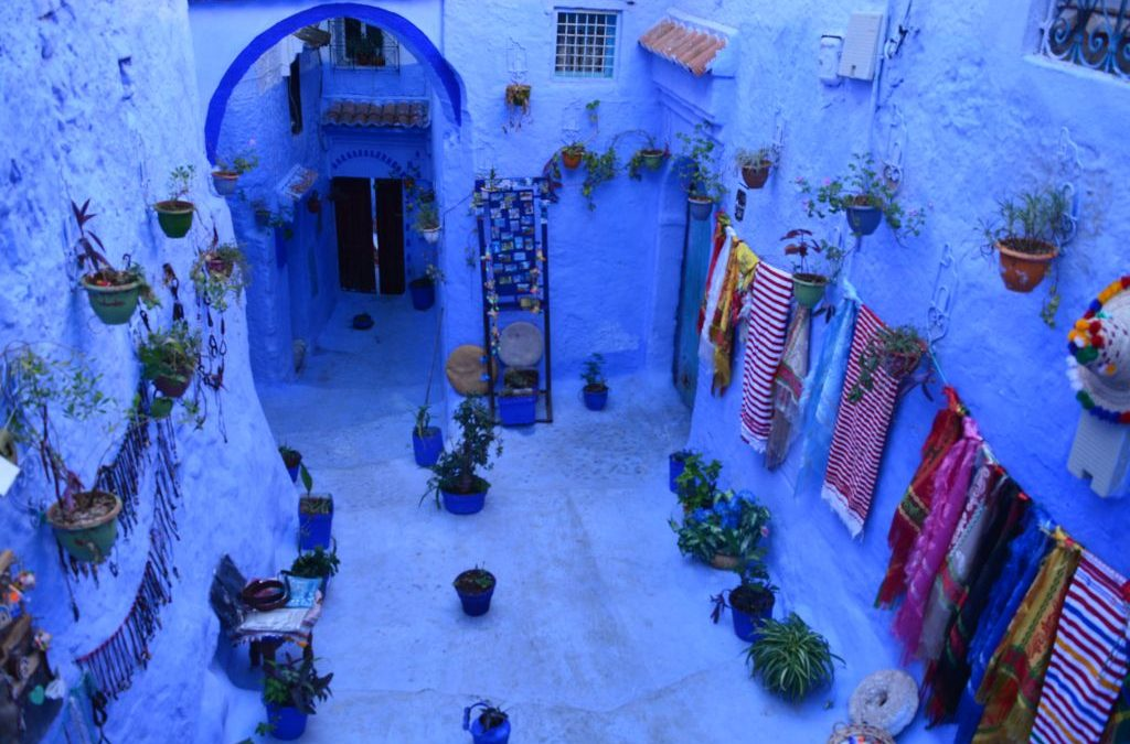 Chefchaouen – perla albastră a Marocului