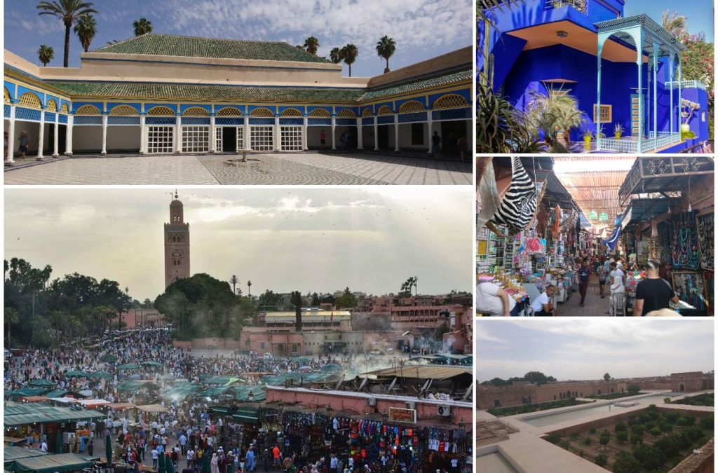 Marrakech – capitala turismului în Maroc