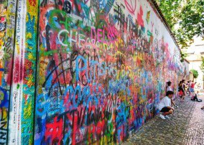 John Lennon wall1
