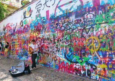 John Lennon wall2