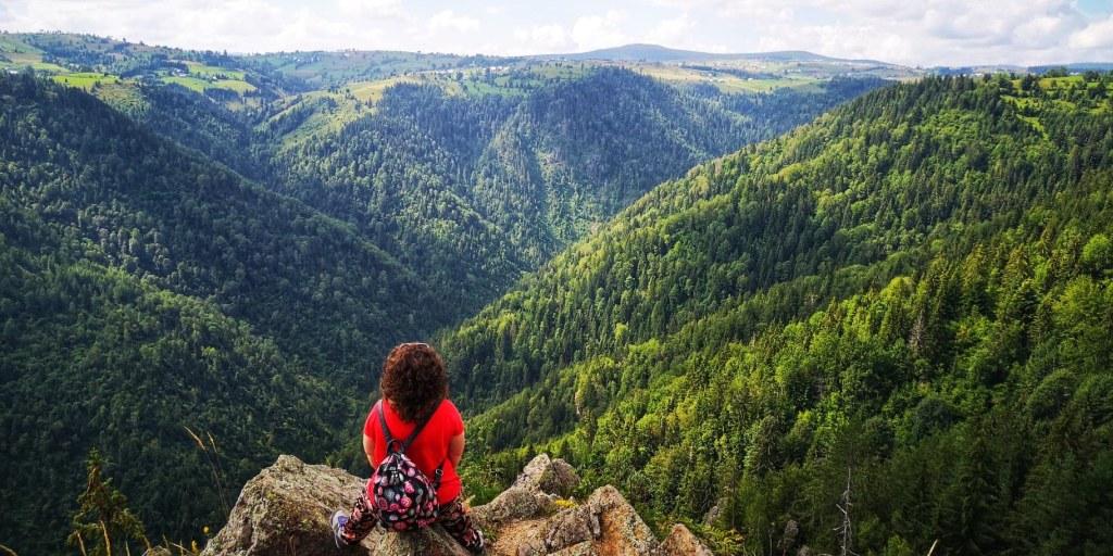 2 locuri cu panoramă superbă mai puțin știute lângă Cluj