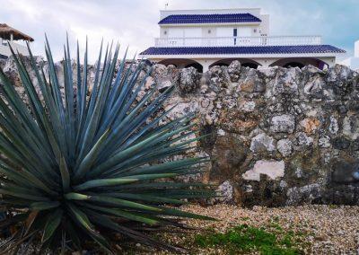 la pas prin Isla Mujeres